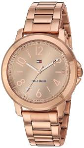[トミー ヒルフィガー]Tommy Hilfiger  'SPORT' Quartz Gold Casual Watch 1781752