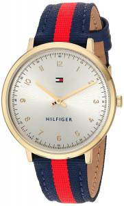 [トミー ヒルフィガー]Tommy Hilfiger 'SPORT' Quartz GoldTone and Nylon Casual Watch, 1781766