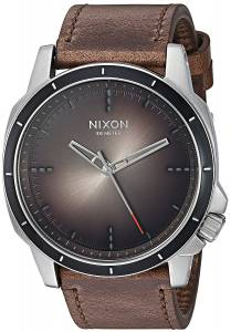 [ニクソン]NIXON  'Ranger Ops' Quartz Stainless Steel and Leather Casual Watch, A9142594-00