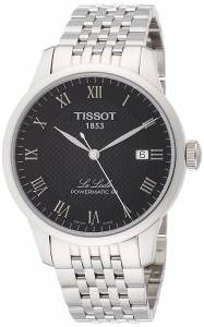 [ティソ]Tissot Le Locle Powermatic 80 Automatic Black Dial T006. 407. 11. 053. 00 T0064071105300