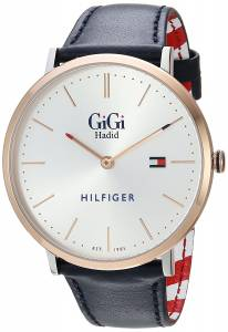 [トミー ヒルフィガー]Tommy Hilfiger 'GIGI' Quartz Stainless Steel and Leather 1781748