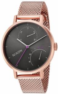 [ニクソン]NIXON  'Clutch' Quartz Stainless Steel Casual Watch, Color:Rose A11662618-00