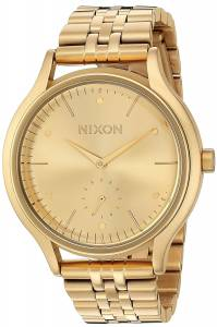 [ニクソン]NIXON  'Sala' Quartz Stainless Steel Casual Watch, Color:GoldToned A994502-00