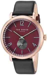 [テッド ベーカー]Ted Baker 'OLIVER' Quartz Stainless Steel and Leather Dress Watch, 10031516