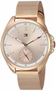 [トミー ヒルフィガー]Tommy Hilfiger  'SPORT' Quartz Gold Casual Watch 1781756
