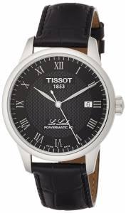 [ティソ]Tissot  Le Locle Powermatic 80 Automatic Black Dial Watch T0064071605300 メンズ