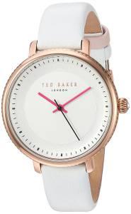 [テッド ベーカー]Ted Baker  'ISLA' Quartz Stainless Steel and Leather Dress Watch, 10031529