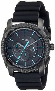[フォッシル]Fossil 'Machine' Quartz Stainless Steel and Silicone Casual Watch, FS5323