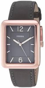 [フォッシル]Fossil 腕時計 Atwater ThreeHand Gray Leather Watch ES4245 レディース
