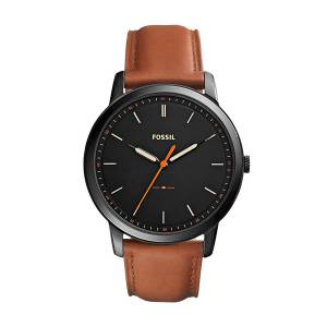 [フォッシル]Fossil  The Minimalist ThreeHand Light Brown Leather Watch FS5305 メンズ
