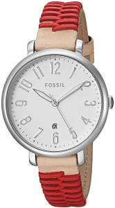 [フォッシル]Fossil  'Jacqueline' Quartz Stainless Steel and Leather Casual Watch, ES4204