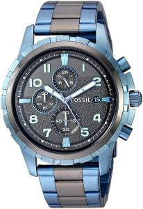 [フォッシル]Fossil 腕時計 Dean Chronograph TwoTone Stainless Steel Watch FS5318 メンズ