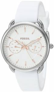 [フォッシル]Fossil  'Tailor' Quartz Stainless Steel and Silicone Casual Watch, ES4223