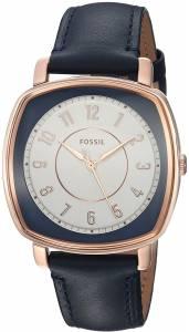 [フォッシル]Fossil  Idealist ThreeHand Blue Leather Watch and Card Case Box Set ES4248SET