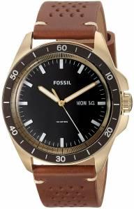 [フォッシル]Fossil  Sport 54 ThreeHand DayDate Light Brown Leather Watch FS5320 メンズ