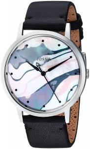 [フォッシル]Fossil 腕時計 Vintage Muse ThreeHand Black Leather Watch ES4211 レディース