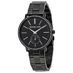 [マイケル・コース]Michael Kors 腕時計 Michael Kors Jaryn Black Watch MK3566