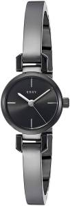 [ダナキャラン]DKNY  'Ellington' Quartz Stainless Steel Casual Watch, Color:Black NY2630