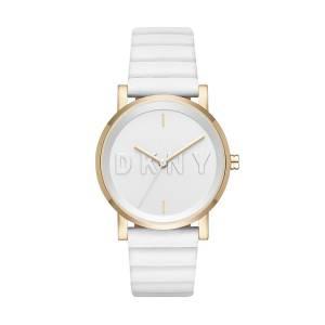 [ダナキャラン]DKNY 腕時計 Soho White Silicone Watch NY2632 レディース