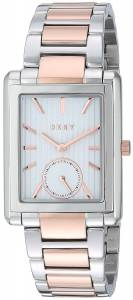 [ダナキャラン]DKNY  Gershwin Two Tone Rose Gold and Silver Watch NY2624 レディース