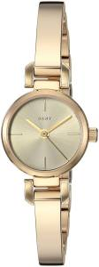 [ダナキャラン]DKNY  'Ellington' Quartz Stainless Steel Casual Watch, Color:GoldToned NY2628