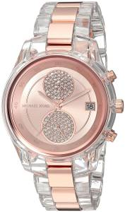 [マイケル・コース]Michael Kors  Quartz Stainless Steel Casual Watch, Color:Rose MK6499