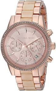 [マイケル・コース]Michael Kors  Quartz Stainless Steel Casual Watch, Color:Rose MK6493