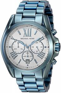 [マイケル・コース]Michael Kors  Quartz Stainless Steel Casual Watch, Color:Blue MK6488