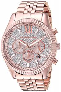 [マイケル・コース]Michael Kors  Quartz Stainless Steel Casual Watch, Color:Rose MK8580