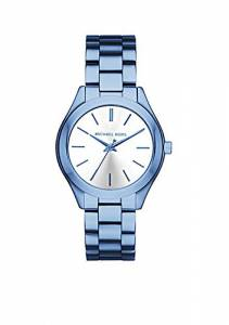 [マイケル・コース]Michael Kors  Quartz Stainless Steel Casual Watch, Color:Blue MK3674