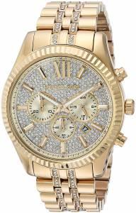 [マイケル・コース]Michael Kors Quartz Stainless Steel Casual Watch, Color:GoldToned MK8579