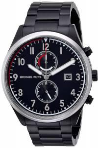 [マイケル・コース]Michael Kors  Quartz Stainless Steel Casual Watch, Color:Black MK8575