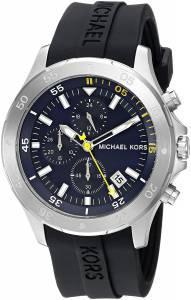 [マイケル・コース]Michael Kors  Quartz Stainless Steel and Silicone Casual Watch, MK8567