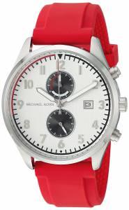 [マイケル・コース]Michael Kors  Quartz Stainless Steel and Silicone Casual Watch, MK8572