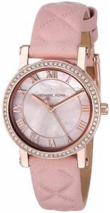 [マイケル・コース]Michael Kors  Quartz Stainless Steel and Leather Casual Watch, MK2683