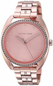 [マイケル・コース]Michael Kors  Quartz Stainless Steel Casual Watch, Color:Rose MK3677