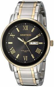 [アーミトロン]Armitron 腕時計 20/4935BKTT メンズ [並行輸入品]