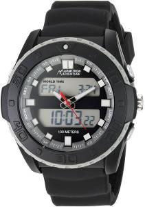 [アーミトロン]Armitron 腕時計 AD/1009BLK メンズ [並行輸入品]