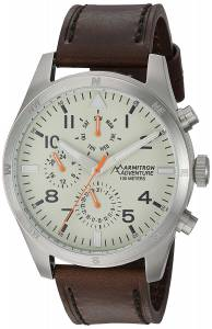 [アーミトロン]Armitron 腕時計 AD/1003IVSVBN メンズ [並行輸入品]