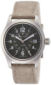 [ハミルトン]Hamilton 腕時計 Khaki Field Olive Geen Dial Quartz Watch H68201963 メンズ