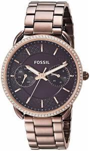 [フォッシル]Fossil  'Tailor' Quartz Stainless Steel Casual Watch, Color:Brown ES4258