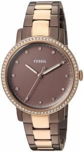 [フォッシル]Fossil  'Neely' Quartz Stainless Steel Casual Watch, Color:Brown ES4300