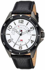 [トミー ヒルフィガー]Tommy Hilfiger 'SPORT' Quartz Stainless Steel and Leather 1791396