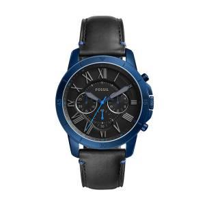 [フォッシル]Fossil  'Grant Sport' Quartz Stainless Steel and Leather Casual Watch, FS5342