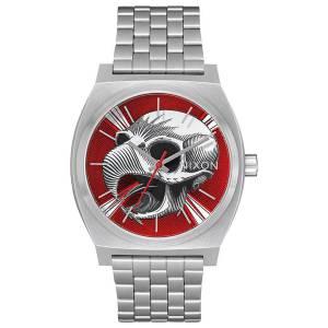 [ニクソン]NIXON  Time Teller Powell Peralta Bones Brigade Limited Edition, Silver/Hawk A0452840