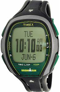[タイメックス]Timex  Ironman Black Polyurethane Quartz Sport Watch TW5M09800 メンズ