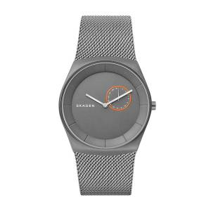 [スカーゲン]Skagen  'Havene' Quartz Titanium Casual Watch, Color:Grey SKW6416 メンズ