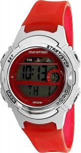 [タイメックス]Timex 腕時計 Red Silicone Quartz Sport Watch TW5M11300 レディース