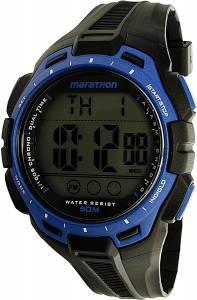 [タイメックス]Timex 腕時計 Black Polyurethane Quartz Sport Watch TW5K94700 メンズ