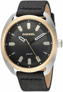 [ディーゼル]Diesel 'Fastbak' Quartz Stainless Steel and Leather Casual Watch, DZ1835